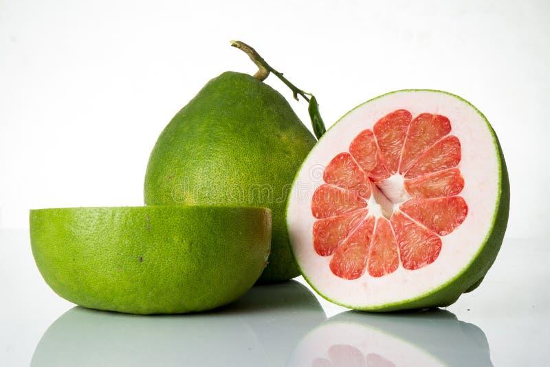 泰国红宝石柚果子 免版税库存照片