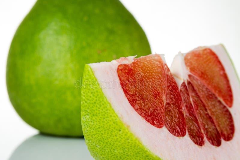 泰国红宝石柚果子 库存照片