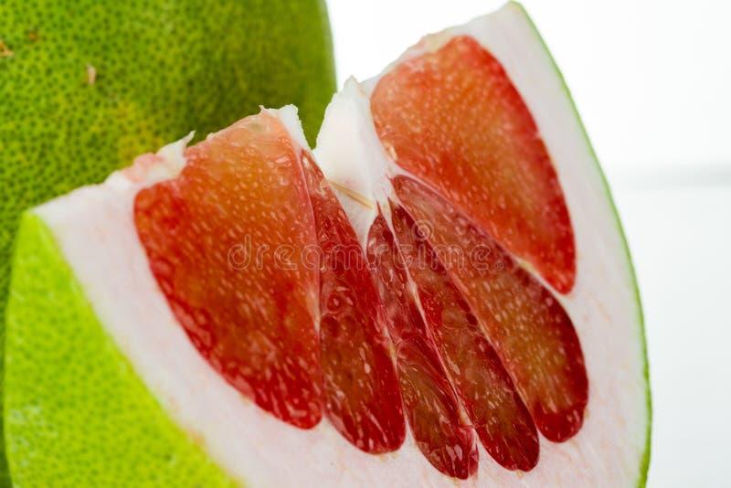 泰国红宝石柚果子 库存图片