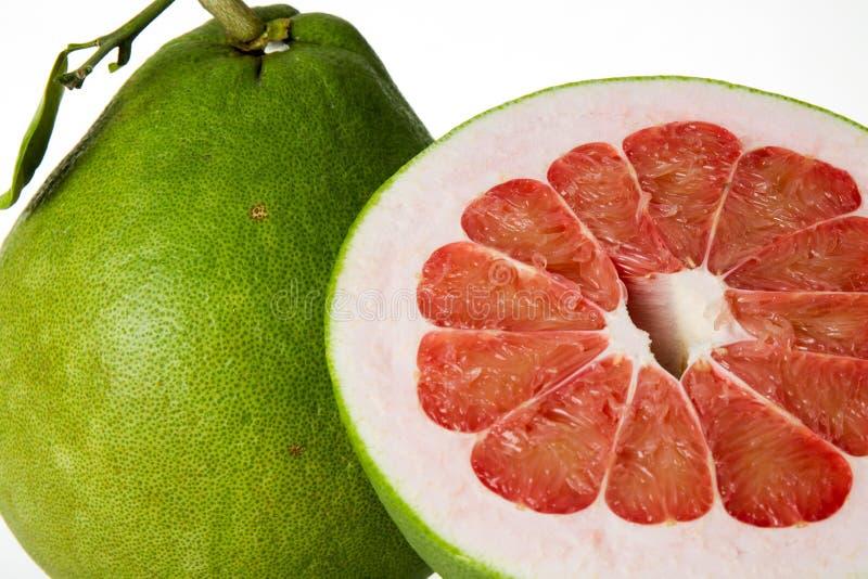 泰国红宝石柚果子 免版税库存图片