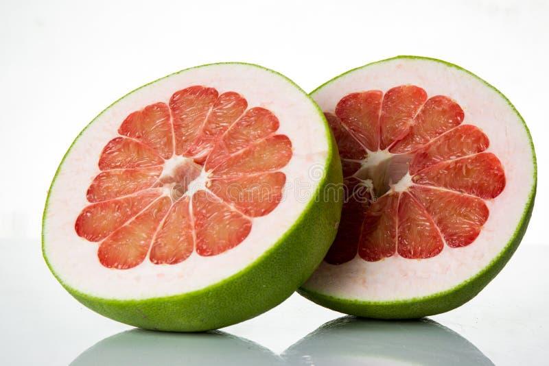 泰国红宝石柚果子 免版税图库摄影