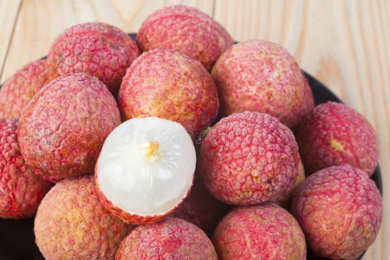泰国荔枝果子 图库摄影