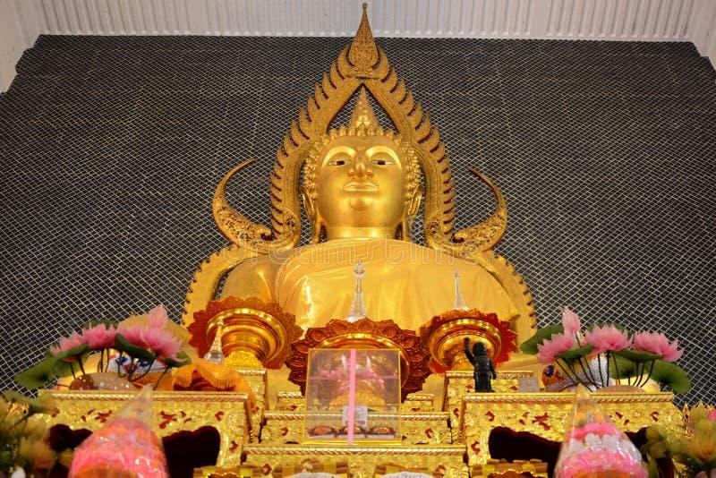 泰国菩萨的雕象 免版税图库摄影