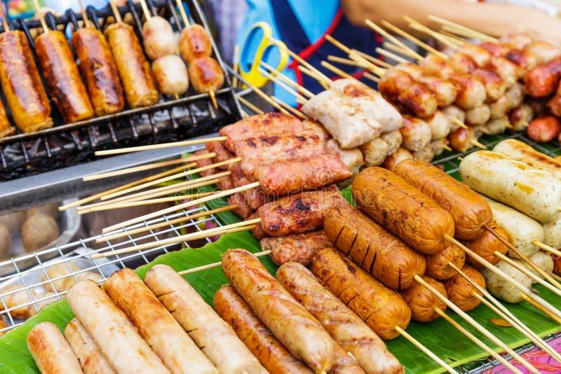 泰国街道食物 免版税库存照片