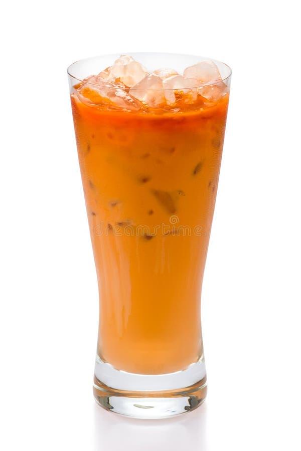 泰国被冰的茶 库存照片