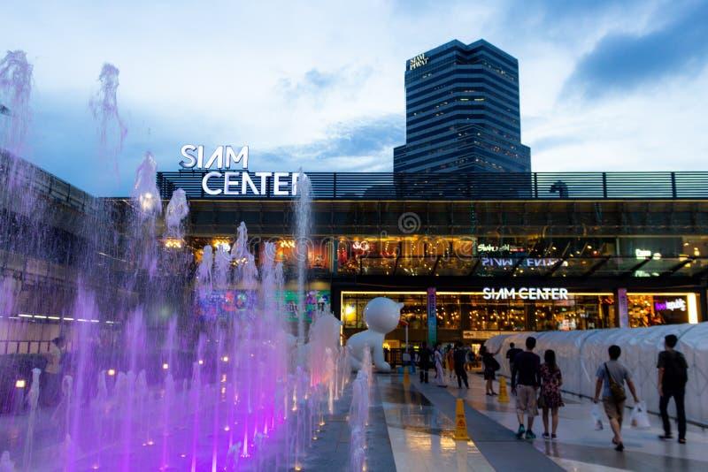 泰国购物区曼谷泰国 免版税库存照片