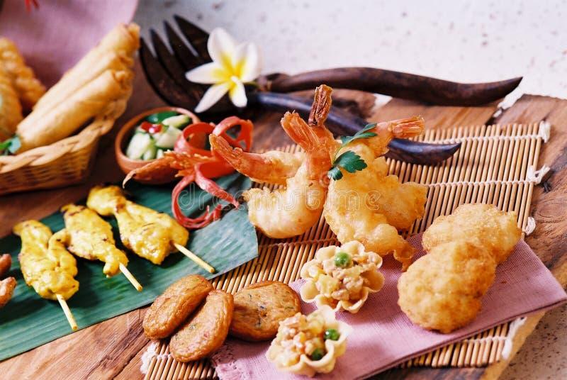 泰国进入的食物 免版税库存图片