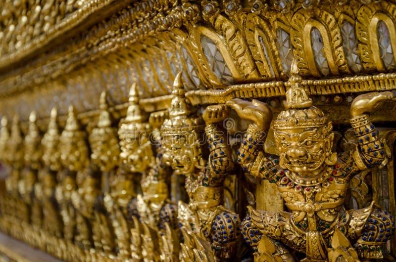 泰国邪魔的数字 库存图片