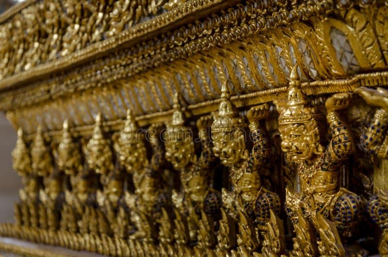 泰国邪魔的数字 免版税库存照片