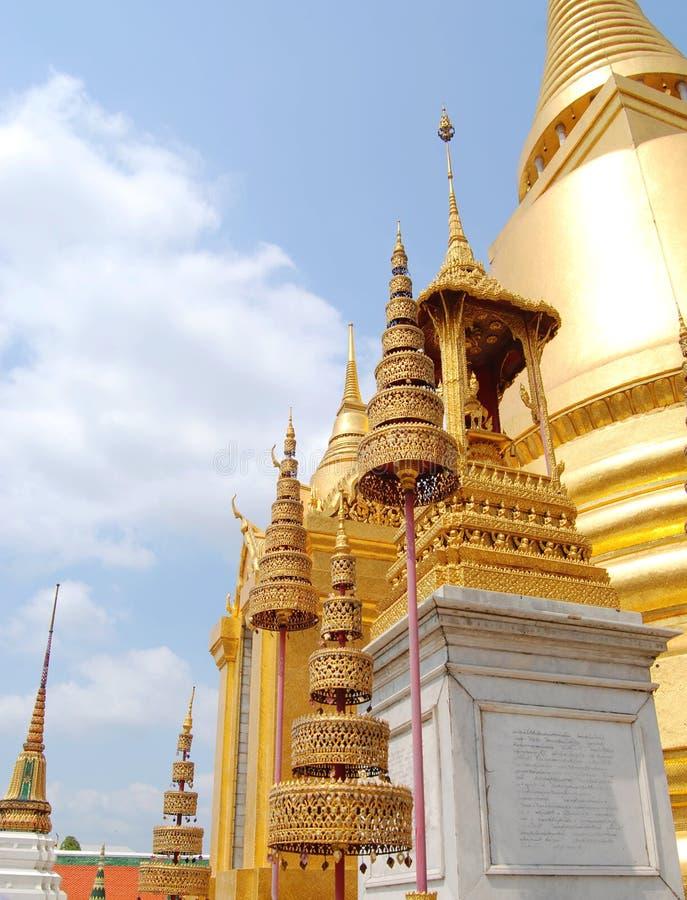 泰国金黄塔佛教寺庙在曼谷