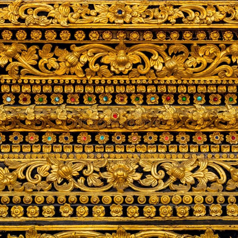 泰国金黄灰泥 库存图片