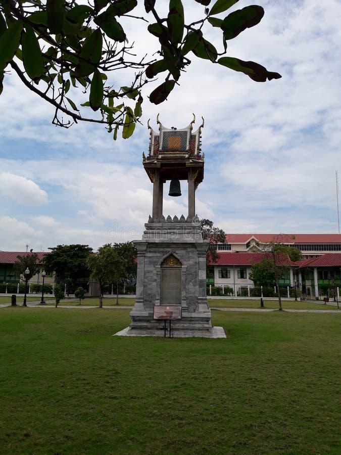 泰国钟楼 免版税图库摄影