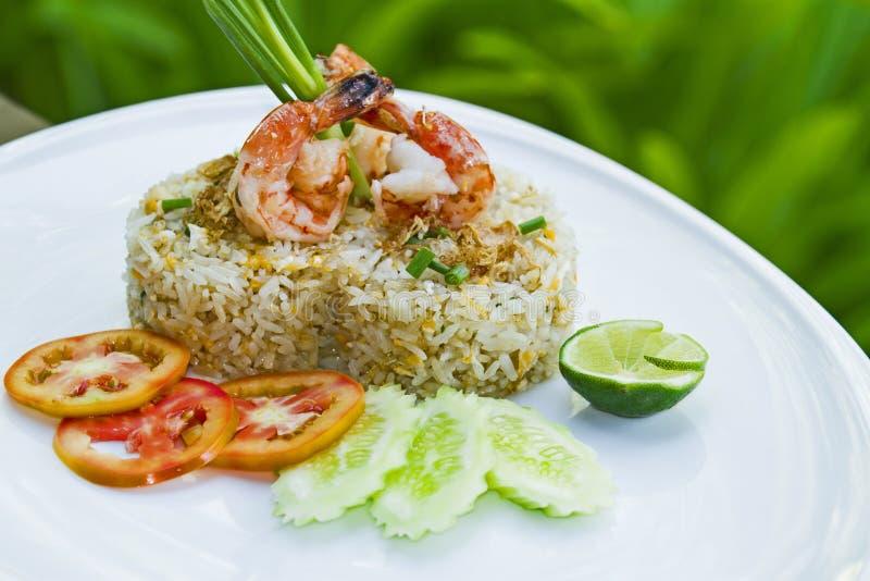 泰国食物在一家豪华旅馆里 库存图片