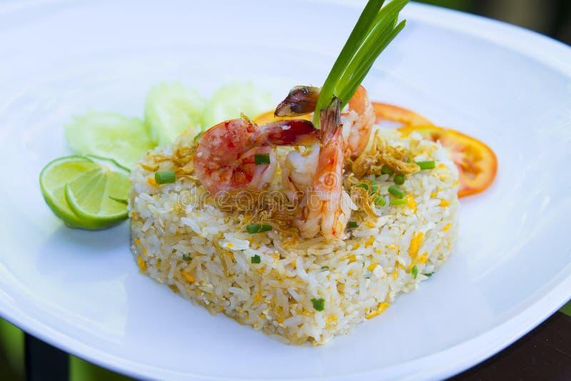 泰国食物在一家豪华旅馆里 免版税库存照片