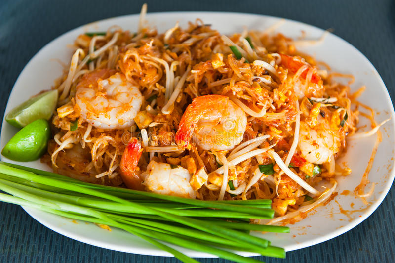 泰国食物的填充 库存照片