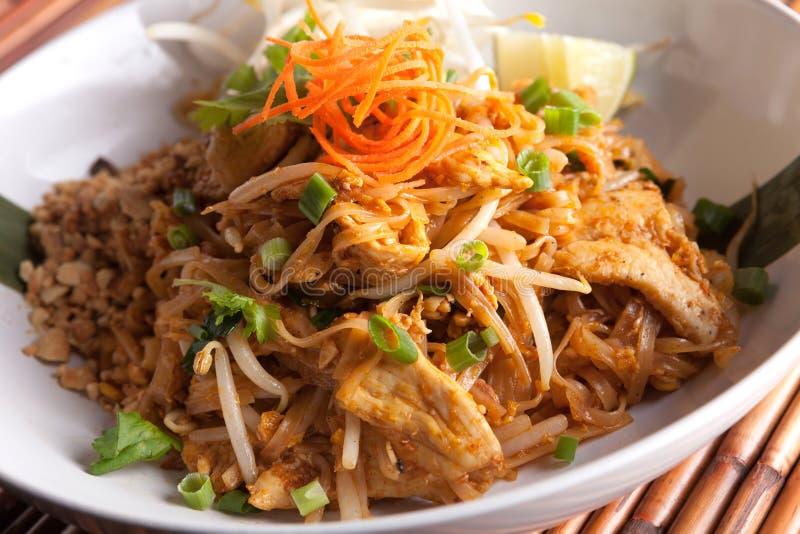 泰国鸡的填充 免版税库存照片