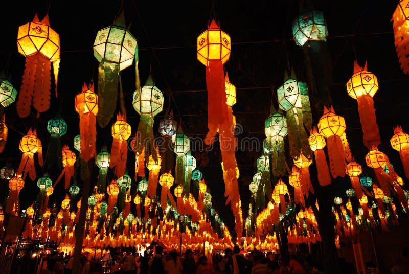 泰国,伊彭节日 库存图片