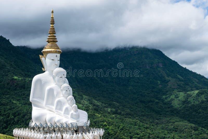 泰国Phetchabun Khao Kho佛教寺院和寺院帕索恩考寺的标志性热点景点 库存图片