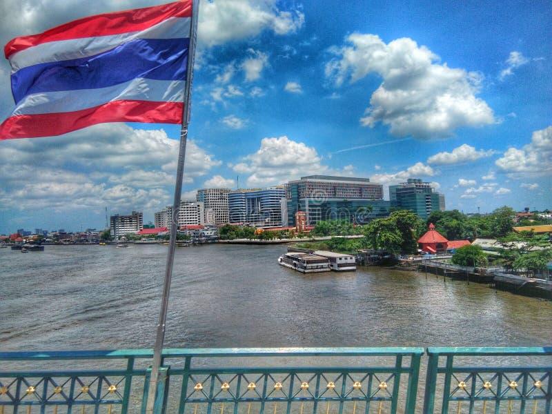 泰国Siriraj医院 免版税图库摄影