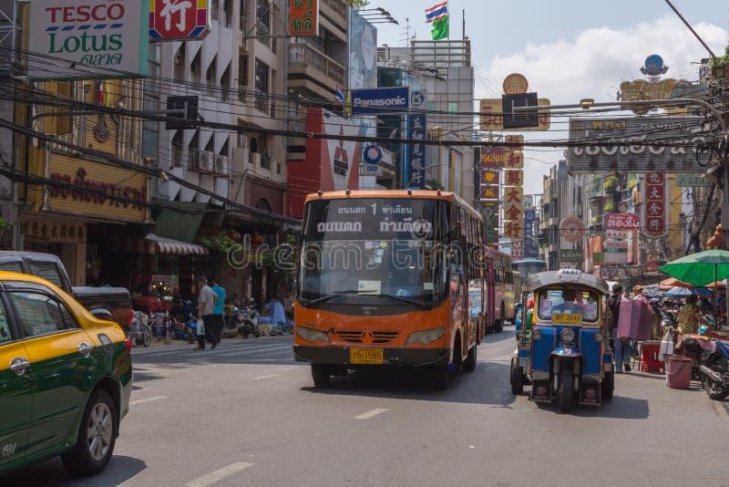 泰国TukTuk出租汽车 免版税库存照片
