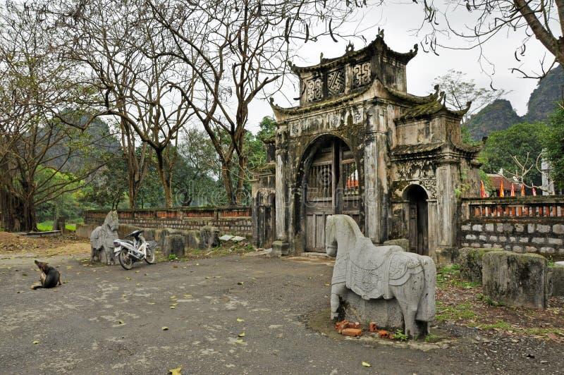 泰国vi寺庙,越南 图库摄影
