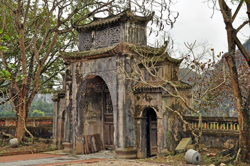 泰国vi寺庙,越南 库存图片