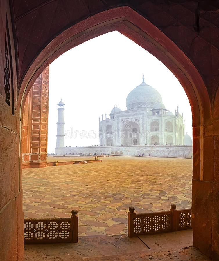 泰姬陵,印度 免版税库存照片
