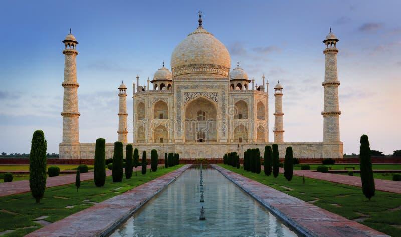 泰姬陵,阿格拉,印度 免版税库存图片