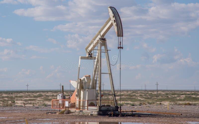 泵浦起重器在得克萨斯 库存图片