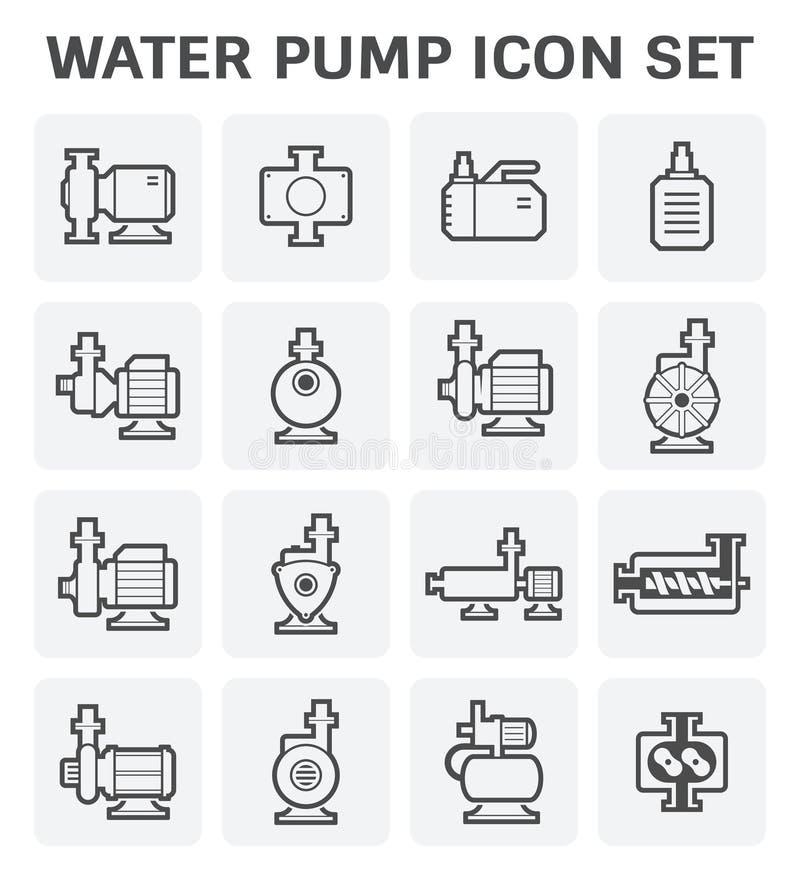 水泵象 库存例证