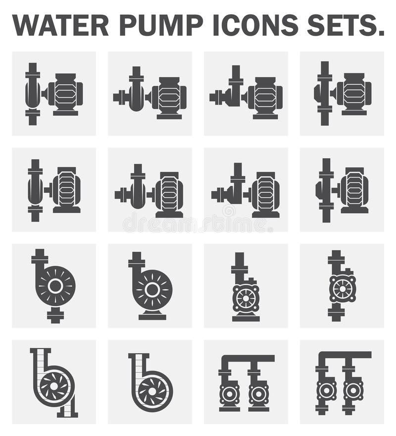 泵 向量例证