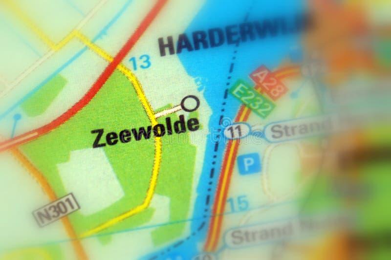 泽沃德,弗莱福兰省,荷兰-欧洲 免版税图库摄影
