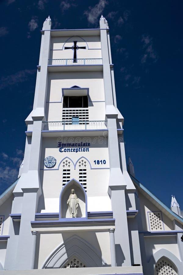 洁净教会的构想 免版税图库摄影