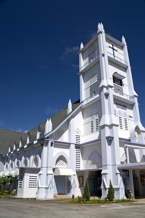 洁净教会的构想 库存图片