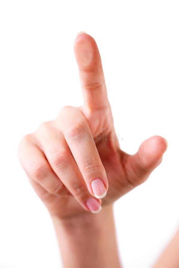洗指碗涉及 免版税库存照片