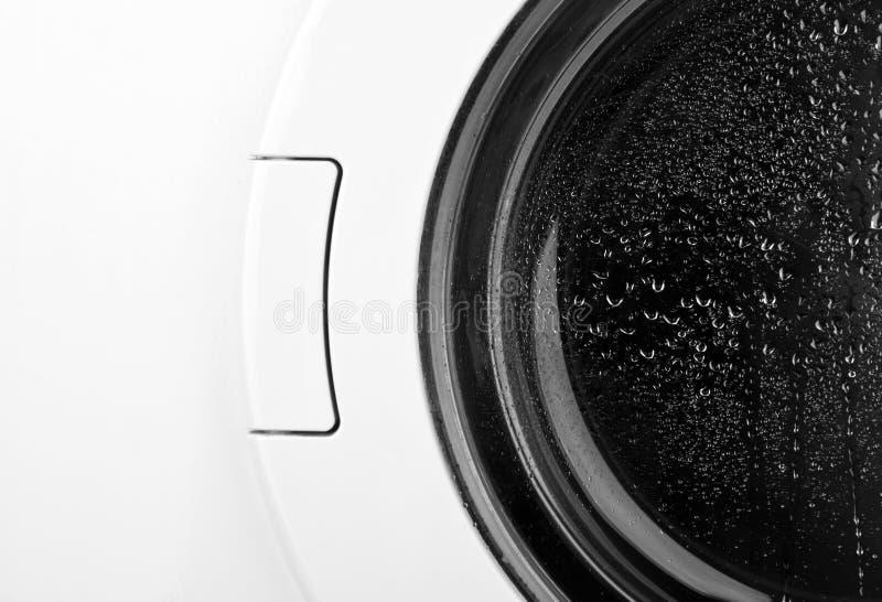 洗涤接近的门的设备  图库摄影