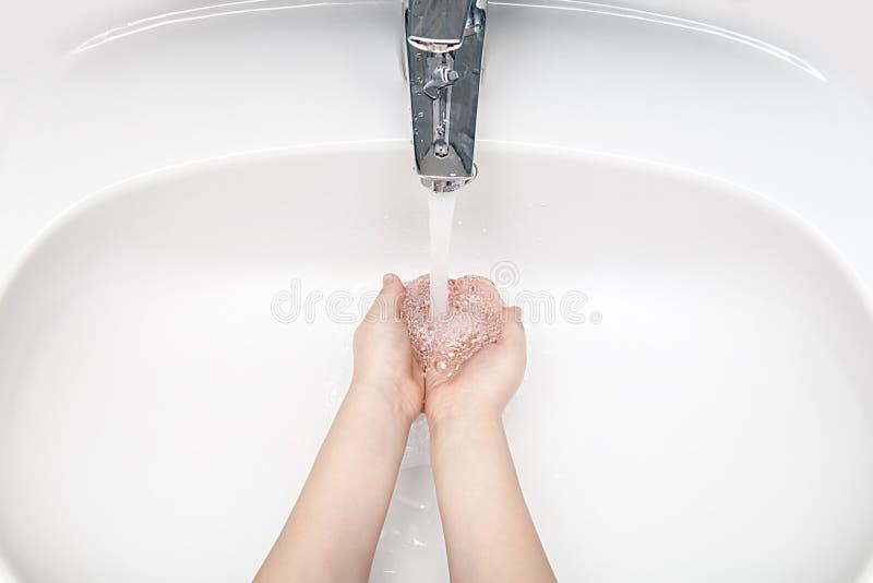 洗涤的现有量 免版税库存图片