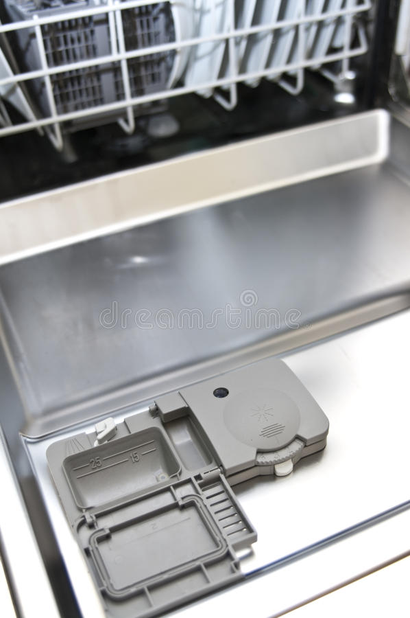 洗碗机 免版税图库摄影