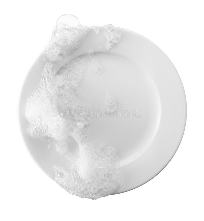 洗碗 免版税库存图片