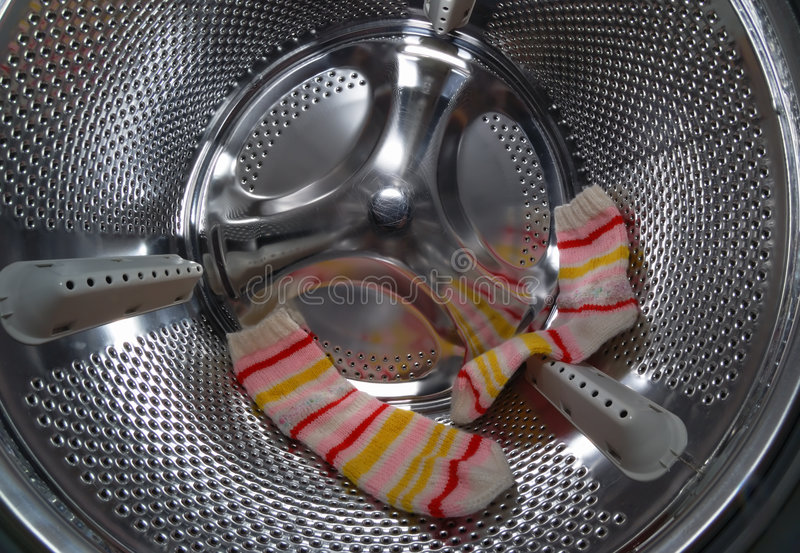 洗衣店洗衣机 免版税库存图片
