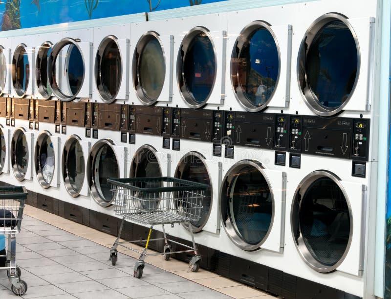 洗衣店界面 库存照片