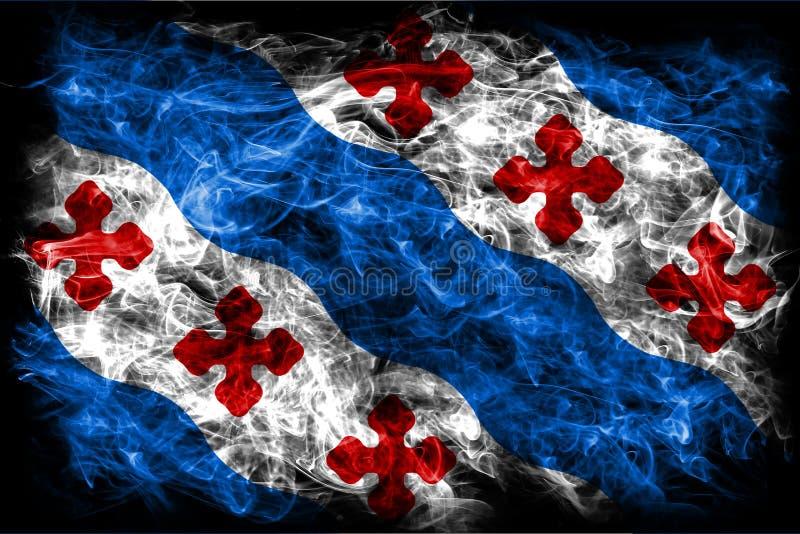 洛克维尔市烟旗子,马里兰状态,美利坚合众国 免版税库存图片