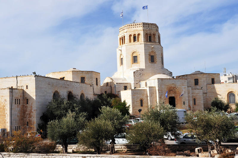 洛克菲勒博物馆在耶路撒冷 免版税库存图片