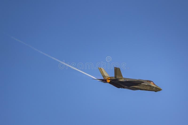 洛克西德・马丁F-35闪电 免版税库存图片
