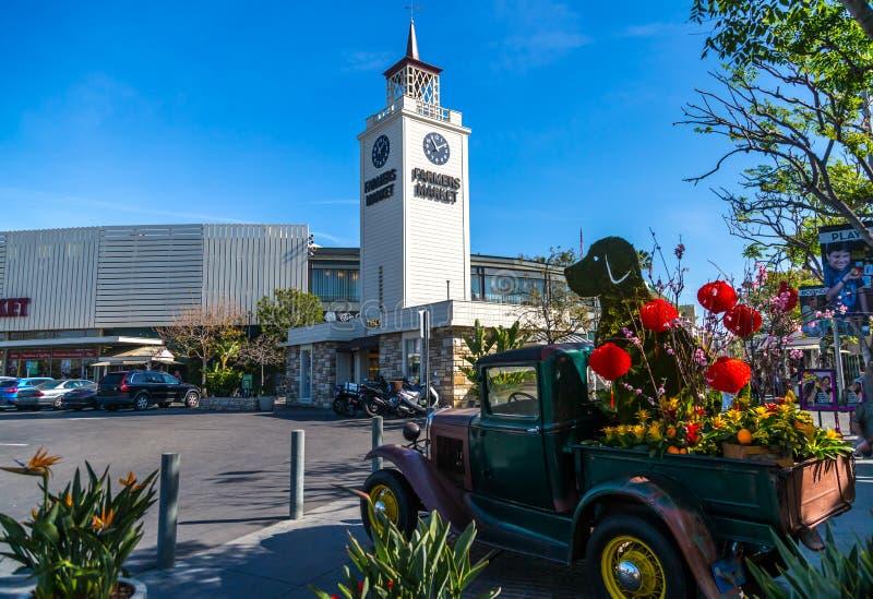 洛杉矶农夫市场 免版税库存图片