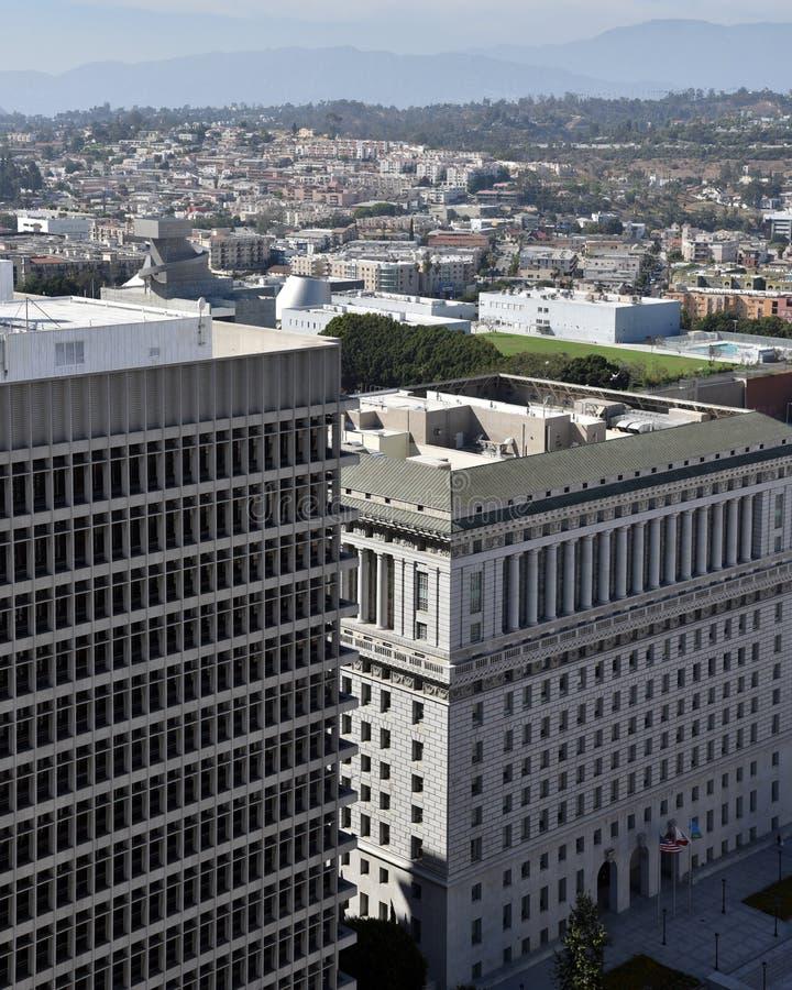 洛杉矶审判厅 图库摄影