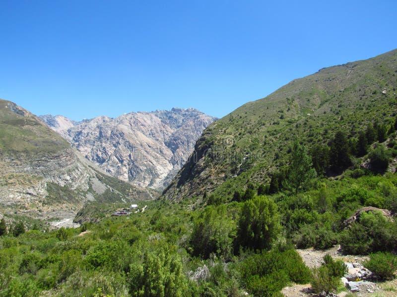 洛杉矶山谷景观 免版税库存图片
