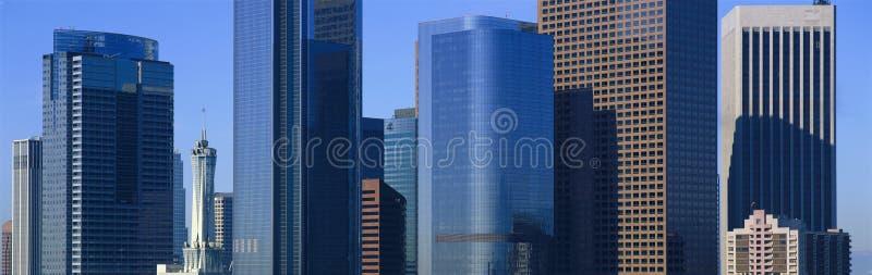 洛杉矶摩天大楼 库存照片
