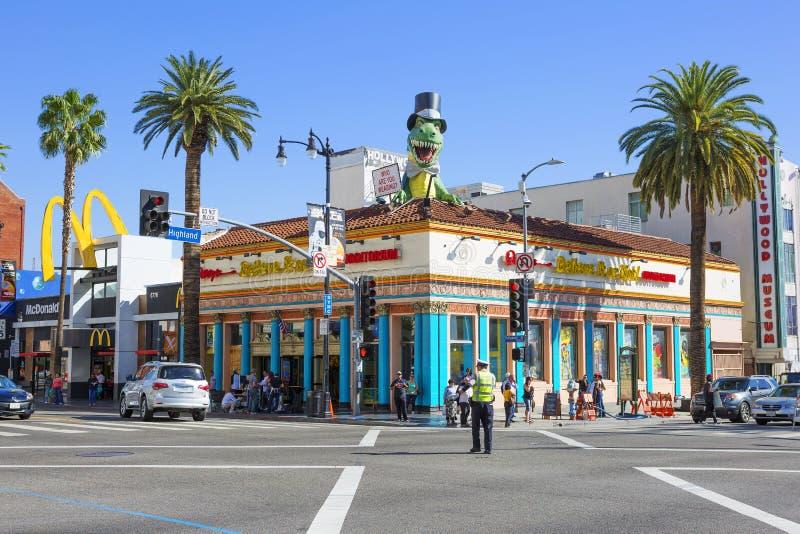 洛杉矶,美国,里普利的相信或不是博物馆 库存图片
