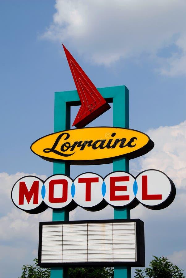 洛林汽车旅馆 库存图片